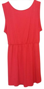 H&M short dress Bright Pink Beach Bright Beachwear Openback Lightweight on Tradesy