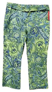 Prada Capris GREEN/BLUE