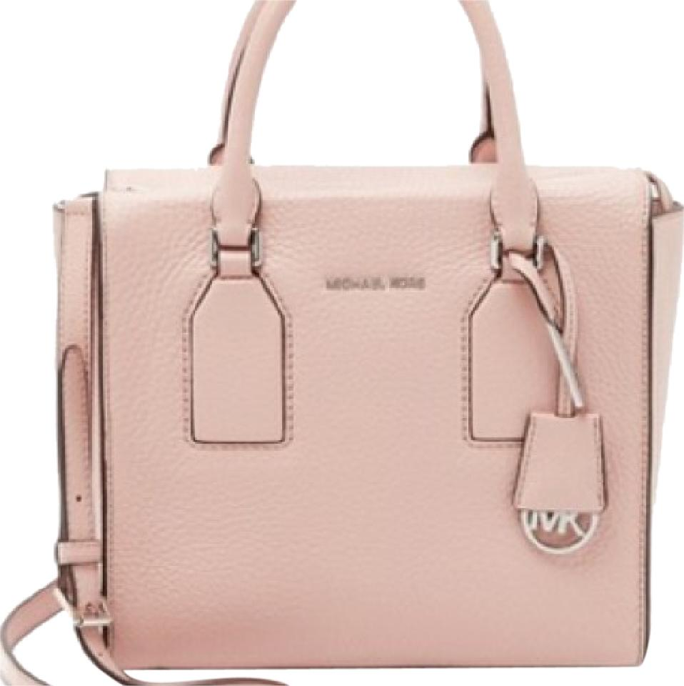 5d3026f75efa Michael Kors Selby Medium Top-zip Messenger - Ballet Pink Blush ...