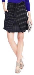 Banana Republic Mini Skirt blue and white