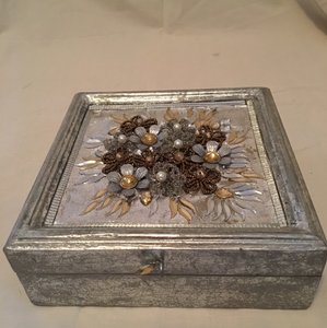Beautiful Detailed Silver Box