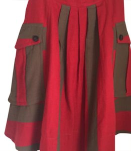 Marc by Marc Jacobs Skirt red and Olive