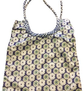 Liberty of London Tote in blue, green, white