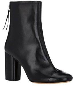 Isabel Marant Lambskin Leather Ankle Black Boots