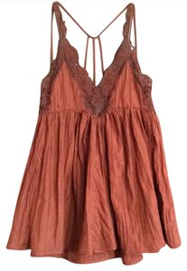 Free People short dress rust colored on Tradesy