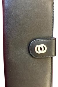 BVLGARI Bvlgari Woman Wallet 8CC with internal zip and flap Calf Leather