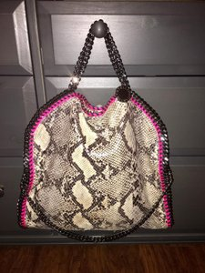 Stella McCartney Python Snake Shoulder Bag