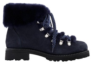 J.Crew Nordic Navy Blue Boots