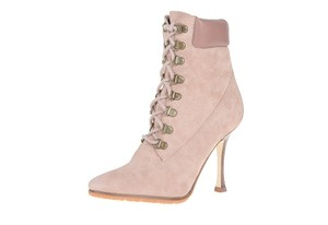 Manolo Blahnik Suede Light Suede Boots