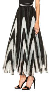 Alice + Olivia Lela Rose Elizabeth And James Tory Burch Dvf Zimmermann Maxi Skirt Black