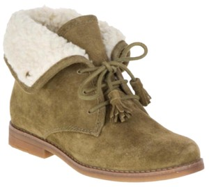 Hush Puppies olive green Boots