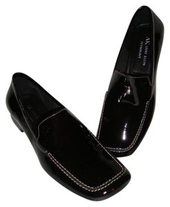 Anne Klein Patent Leather Classic New Black Flats