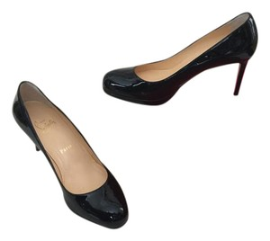 Christian Louboutin Practically New Patent Leather Black Patent Pumps