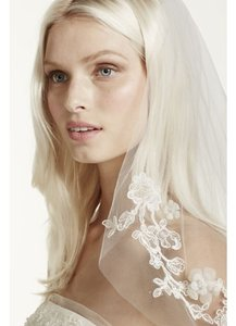 White By Vera Wang Nwot White By Vera Wang Embellished Veil