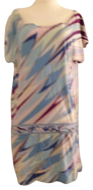 Emilio Pucci short dress Multi water colors on Tradesy