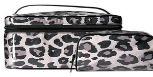 Kate Spade Micah Crawford Court Leopard cosmetic case