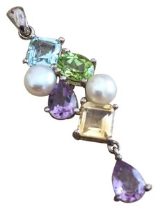 Other Multicolor Gemstone Pendant