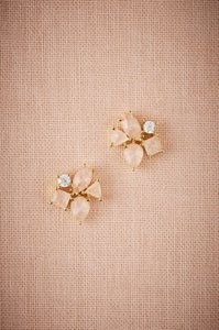 BHLDN Blushing Petal Earrings