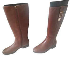 Coach Riding Brown Boots
