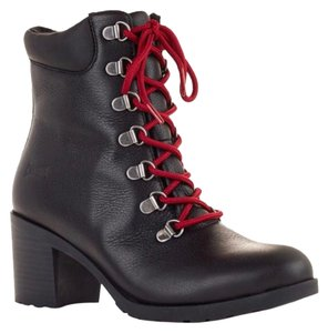 Cougar Black with red laces Boots