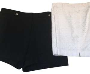 White House | Black Market Dress Shorts one black/one white