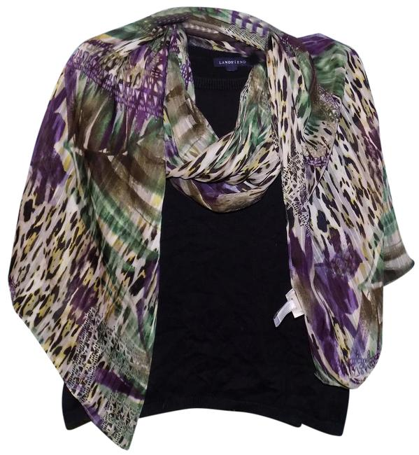 Item - Multi-colored Polyester Scarf/Wrap