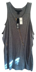 Marc by Marc Jacobs With Zippers Tank Top Grey