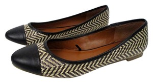 Banana Republic Black Ivory Flats