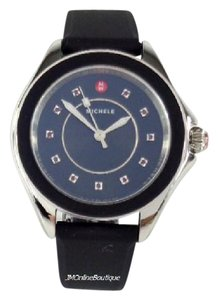 Michele Michele MWW27A000002 Cape Black Topaz Changeable Silicone Watch