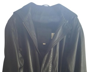 Coach Black Leather- very soft Leather Jacket