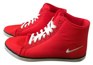 Nike High-top Red Athletic