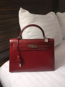 Hermès Kelly Kelly Sellier Kelly 32 Box Leather Kelly Shoulder Bag