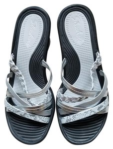 Skechers Silver Wedges