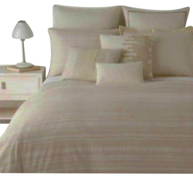 Item - Ivory Como Queen Duvet Cover Textured Jacquard Other