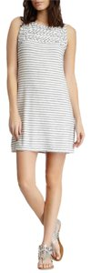 Max Studio short dress White/Gray on Tradesy
