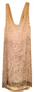Alice + Olivia Sequin Cowl Neck Dress