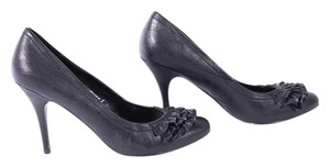 Pierre Dumas Dumas Closed Toe Slip On Black Pumps
