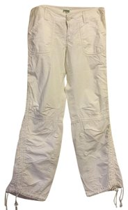Abercrombie & Fitch Straight Pants white