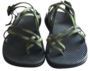 Chaco Green with black accents Athletic