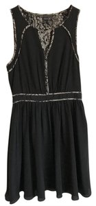 A|X Armani Exchange short dress Black with white pattern on Tradesy