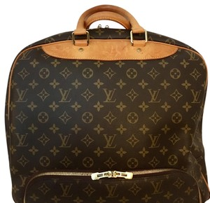 Louis Vuitton Weekender Overnight Grab And Go Lv Tote Brown Monogram Travel Bag