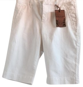 Coldwater Creek Bermuda Shorts White
