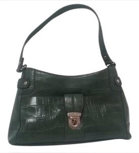 Liz Claiborne Satchel in Olive green