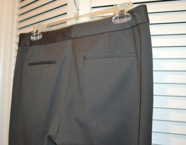 Tahari Wool Slacks Theora Slight Flare Pants PEAT (Deep Brown) Image 4