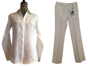 Brooks Brothers Linen Catherine Fit Spring Summer Resort Pants