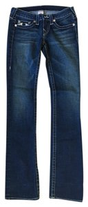 True Religion Denim Stitching Skinny Skinny Jeans-Medium Wash