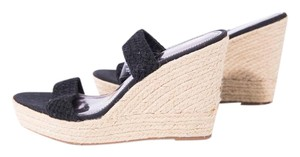 Mossimo Supply Co. Party Open Toe Beach Black Sandals