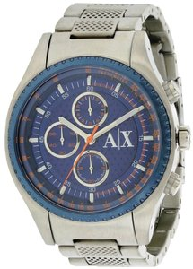 A X Armani Exchange Armani Exchange Stainless Steel Chronograph Mens Watch AX1607