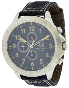 A|X Armani Exchange Armani Exchange Romulous Denim Mens Watch AX1756