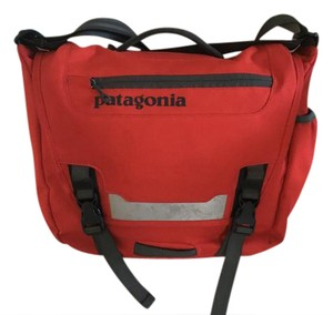 Patagonia Messenger Biking Red Messenger Bag